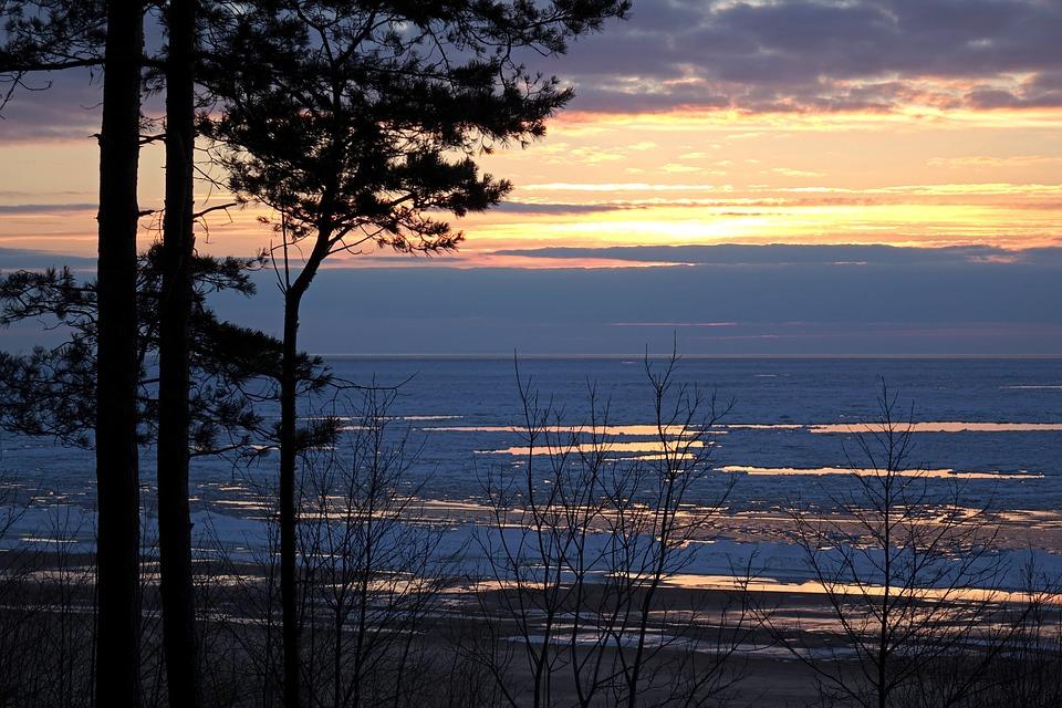 Nature, Sunset, Landscape