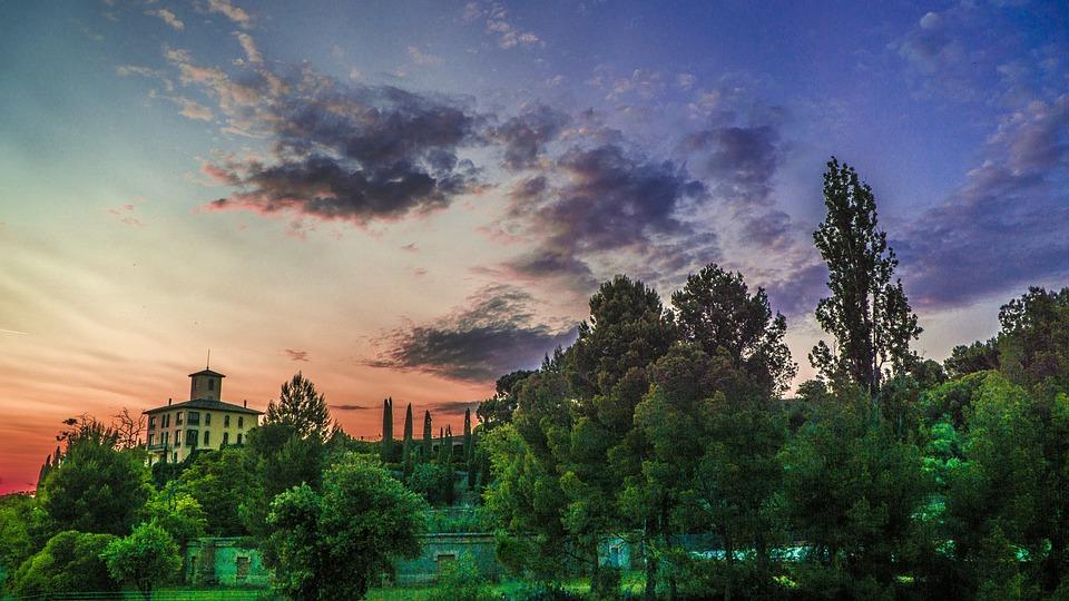 Sunset, Sky, Nature, Sun, Landscape, Clouds, Light