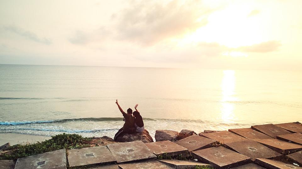 Sunrise, Sunset, Landscape, Nature, Sky, Dawn, Water