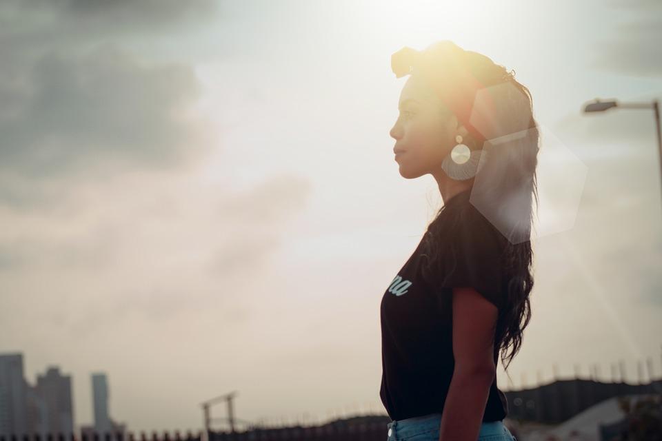 Woman, Model, Sunset, Sunshine, Young, Female, Nature