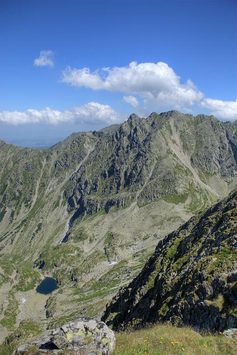 Tatry, Landscape, Top View, Mountains, View, Nature