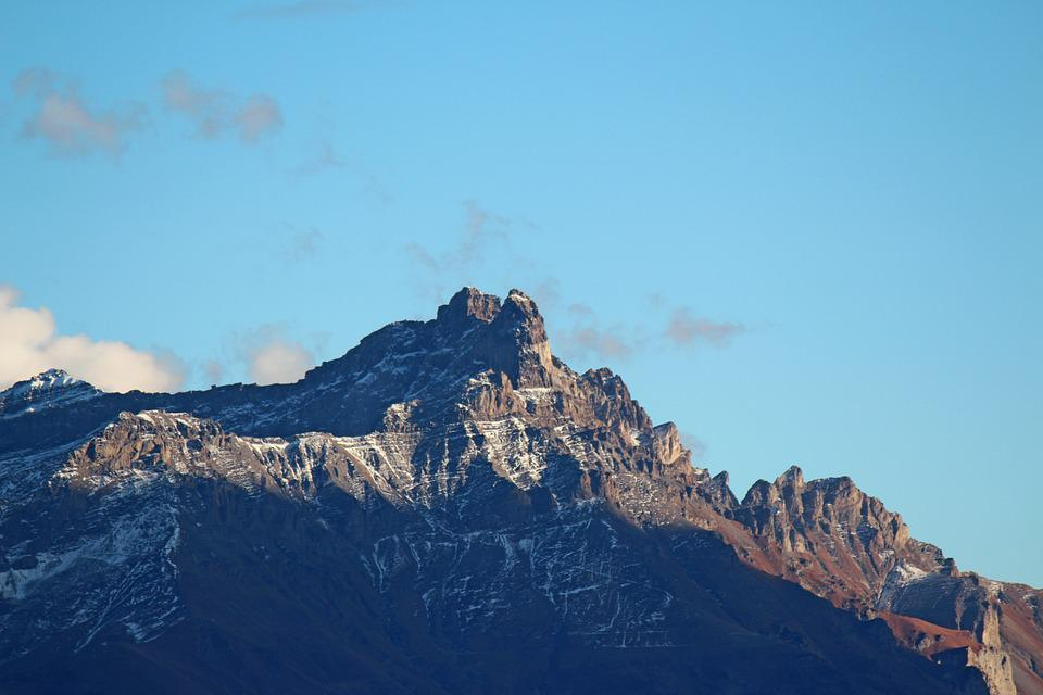 Nature, Mountain, Teeth Of Morcles, Switzerland