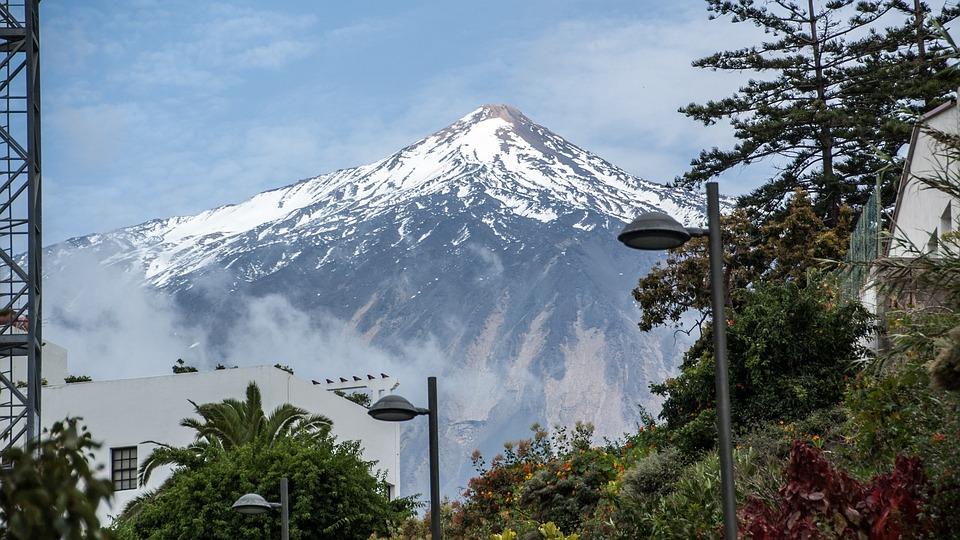 Tenerife, Nature, Volcano, Pico Del Teide