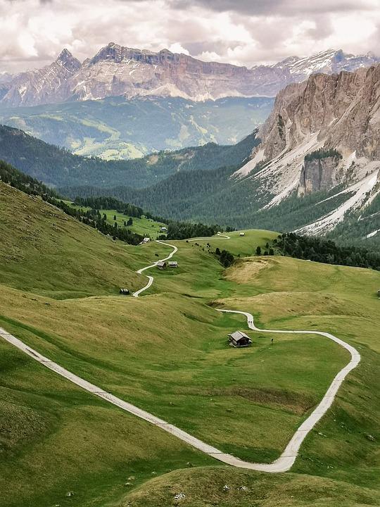 Mountain, Nature, Teraladina, Alps, Landscape, Trentino