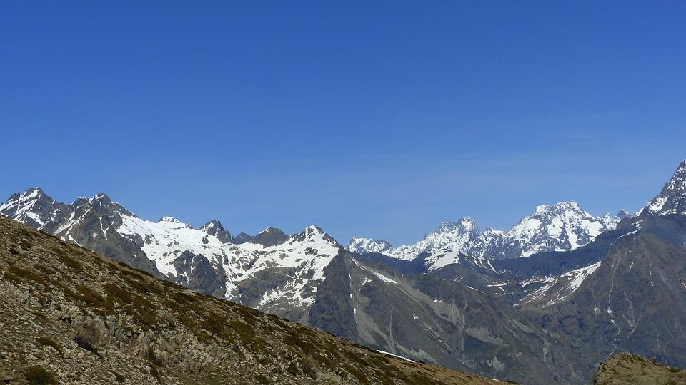 The Ecrins National Park, Landscapes, Nature, Mountain