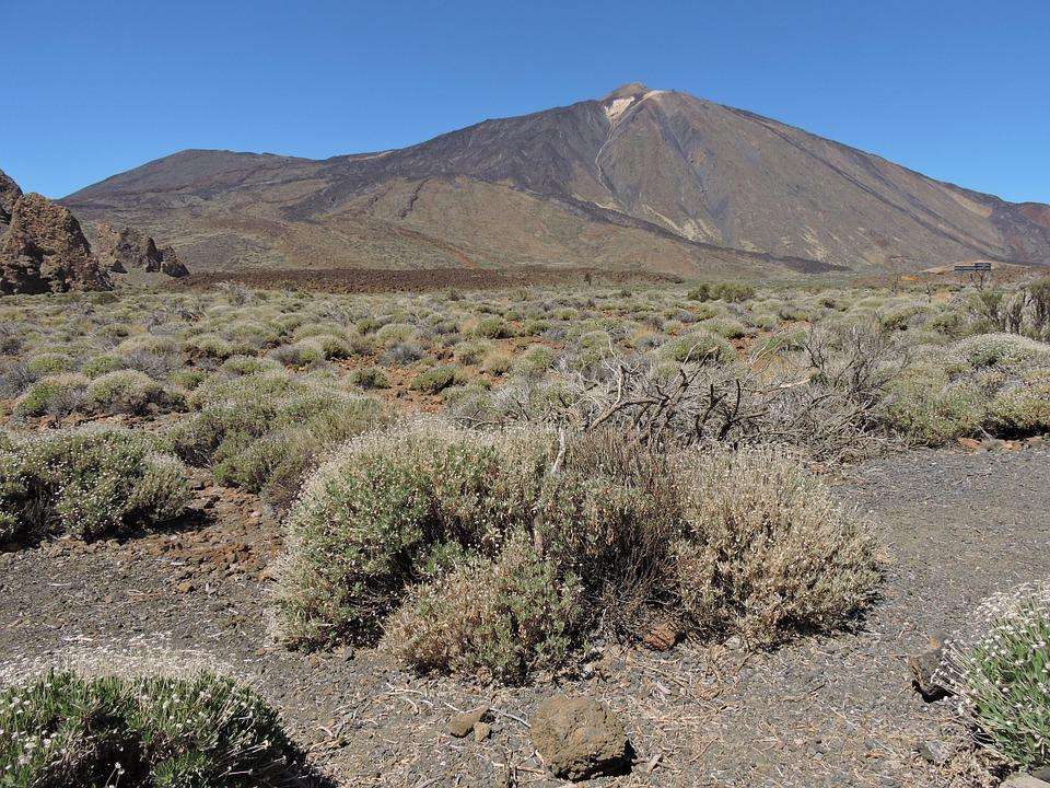 El Teide, Tenerife, Mountain, Nature, The National Park