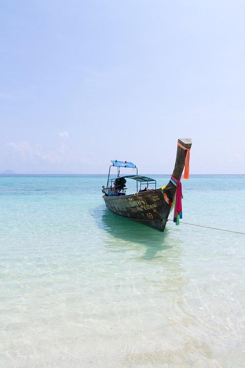 Sea, Ship, Sky, Blue, Travel, Ocean, Nature, Boat