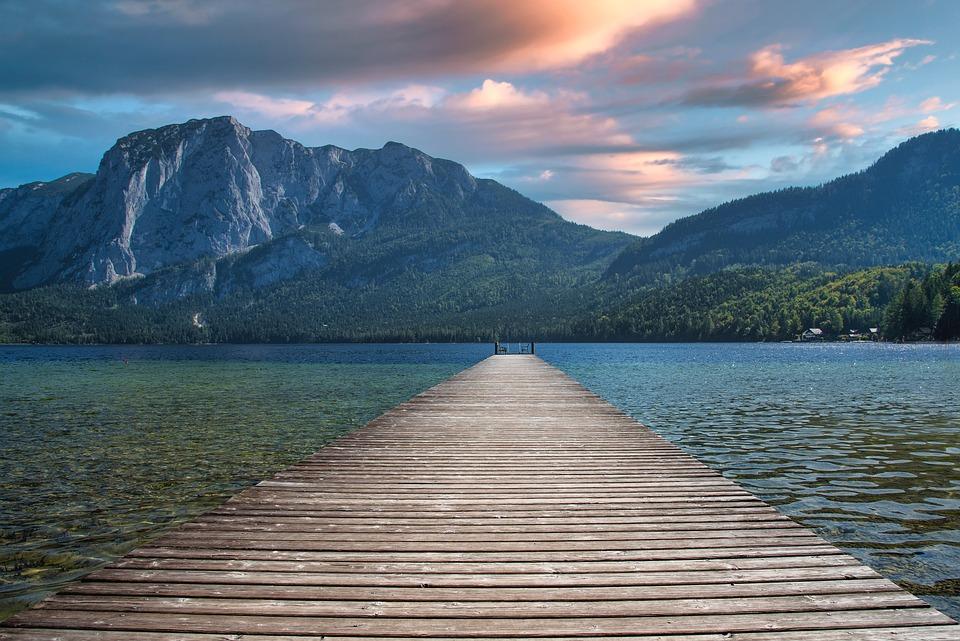 Lake, Nature, Travel, Dock, Outdoors, Exploration