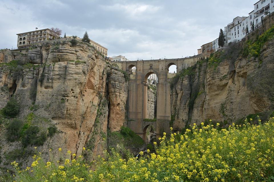 Travel, Landscape, Nature, Ronda, New Bridge, Andalusia