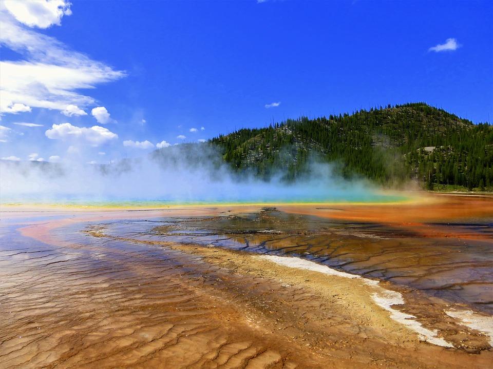 Usa, National Park, Landscape, Nature, Travel