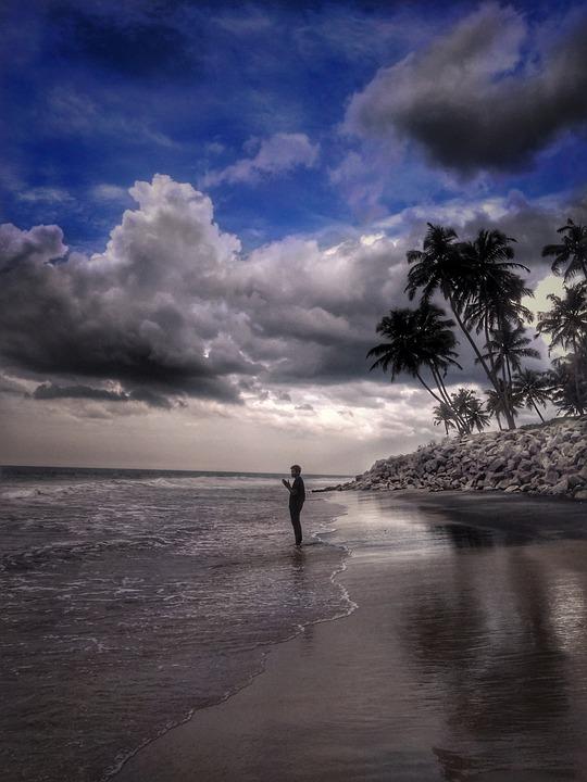 Beach, Water, Seashore, Sea, Ocean, Sky, Travel, Nature