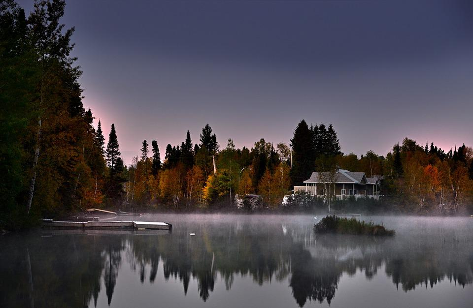 Autumn Landscape, Lake, Nature, Trees, Reflections