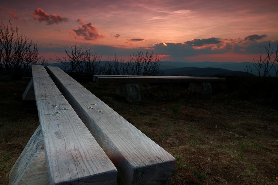 The Sun, West, Sky, Clouds, Landscape, Twilight, Nature