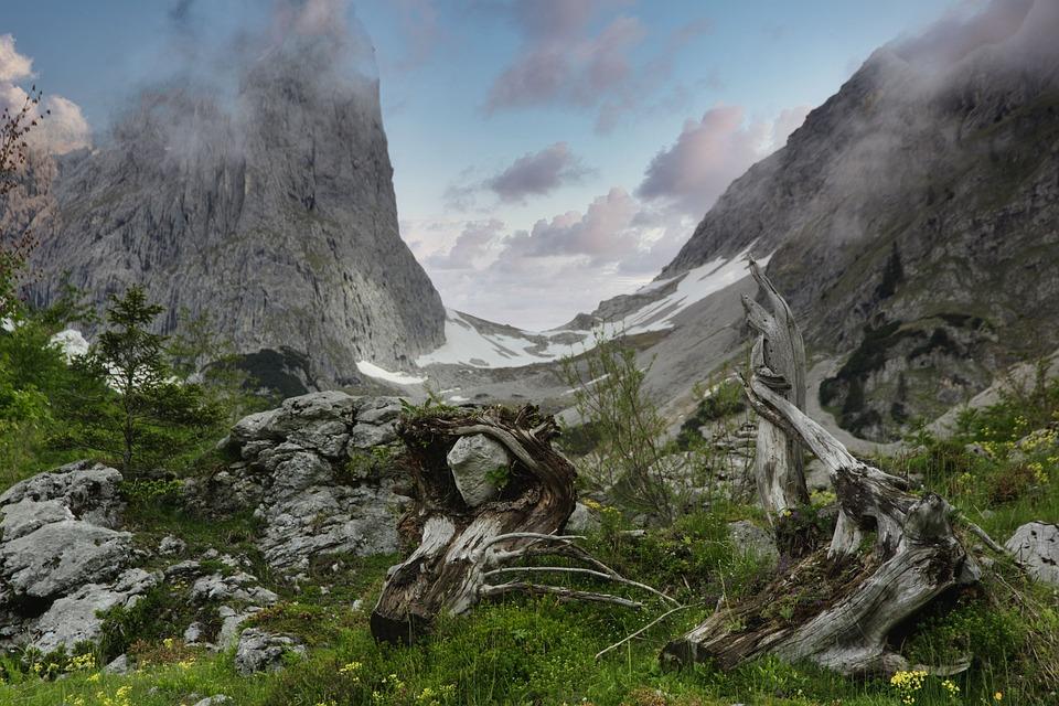 Vacations, Travel, Austria, Ellmauer Gate, Nature