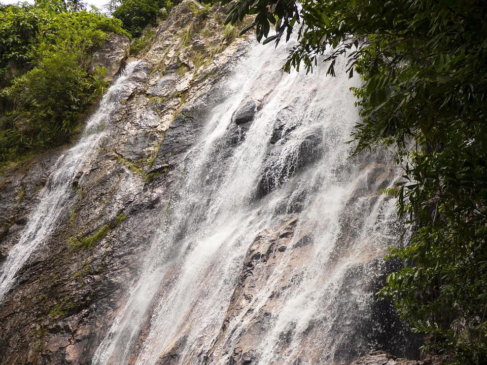 Waterfall, Schladming, Vacations, Water, Nature