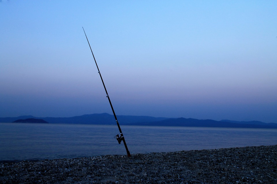 Fishing Rod, Sea Landscape, Nature, Vacations, Sky