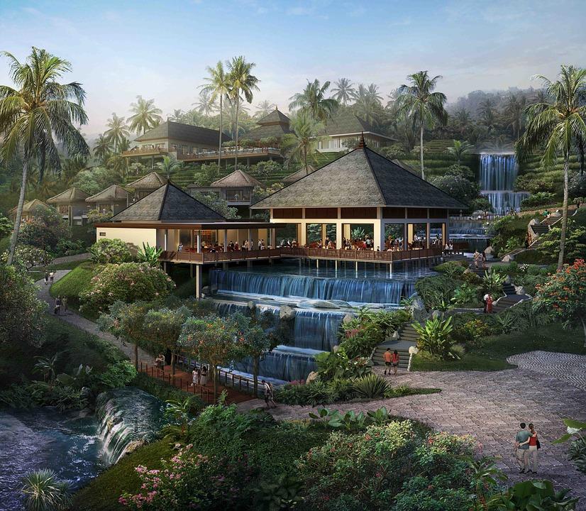 Bali, Villa, Nature