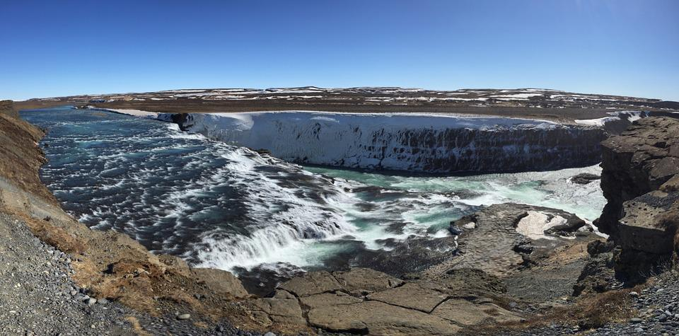 Iceland, Golden Circle, Water Fall, Water, Nature