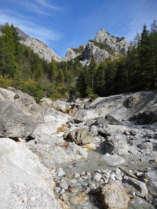 River, Bach, Water, Waters, Idyllic, Landscape, Nature