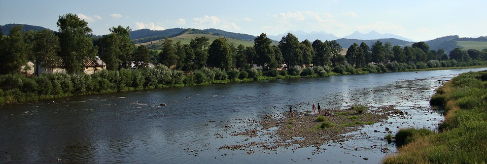 Dunajec River, Nature, Poland, Landscape, Water