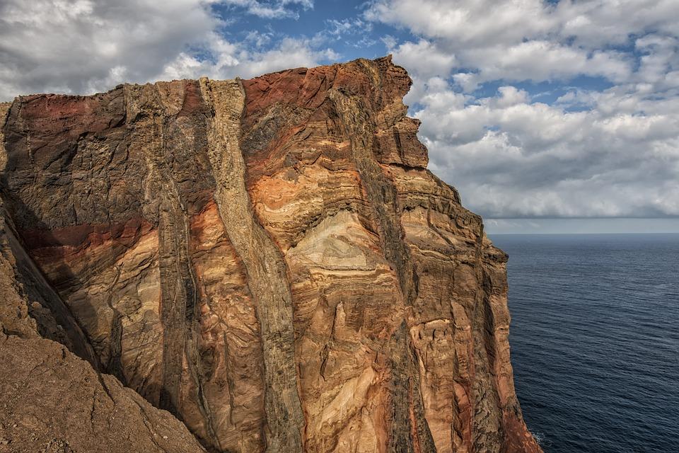 Madeira, Coast, Sea, Rock, Nature, Water, Island