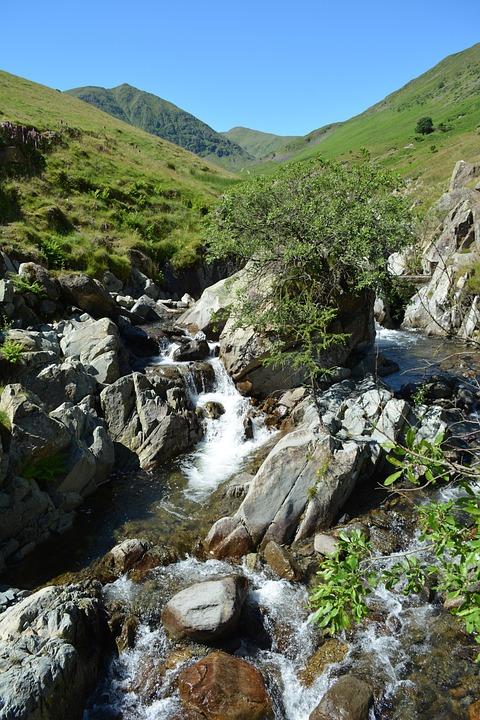 Nature, Water, Rock, Stream, River