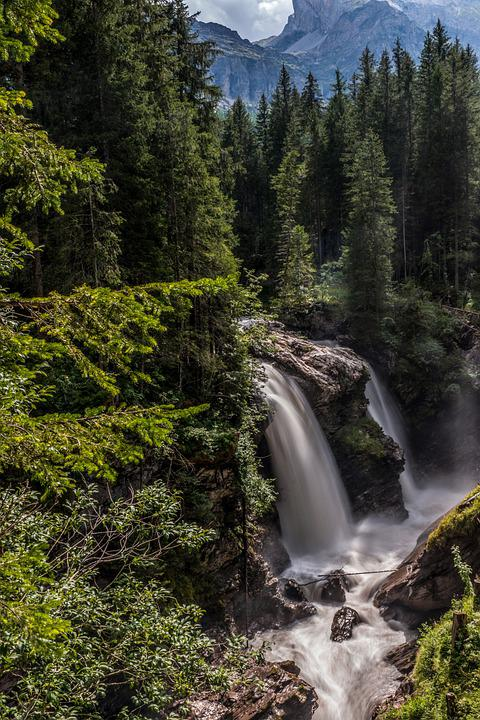 Waterfall, Nature, Travel, Exploration, Outdoors