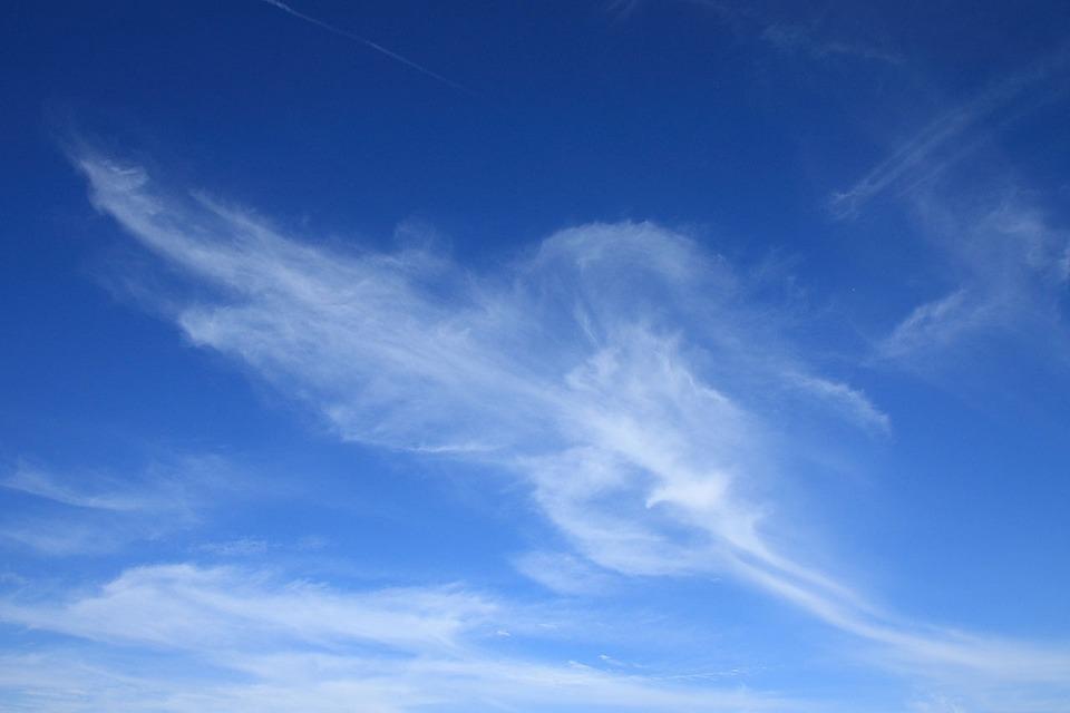 Clouds, Sky, Cirrus, Nature, Blue, White