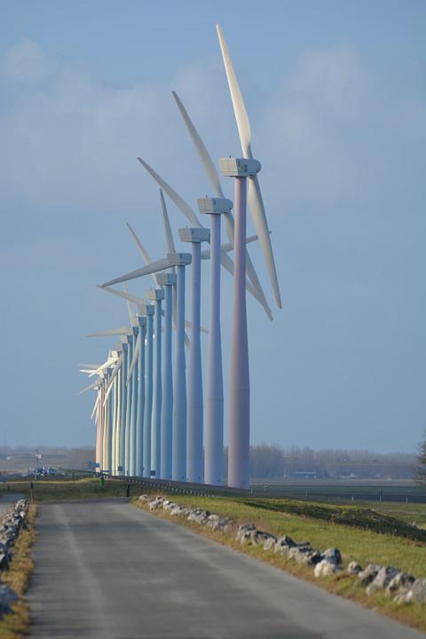 Nature, Windmills, Netherlands, Wind Energy, View