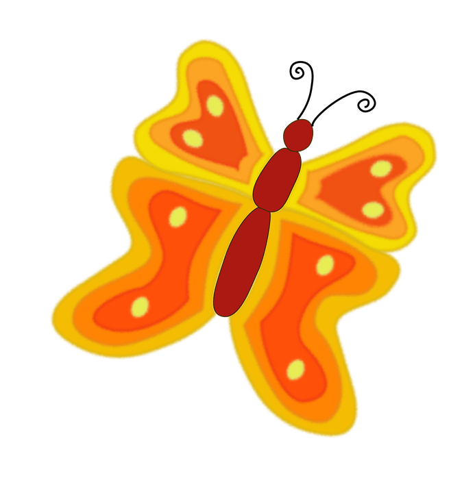 Butterfly, Yellow, Insect, Nature, Wing, Antenna