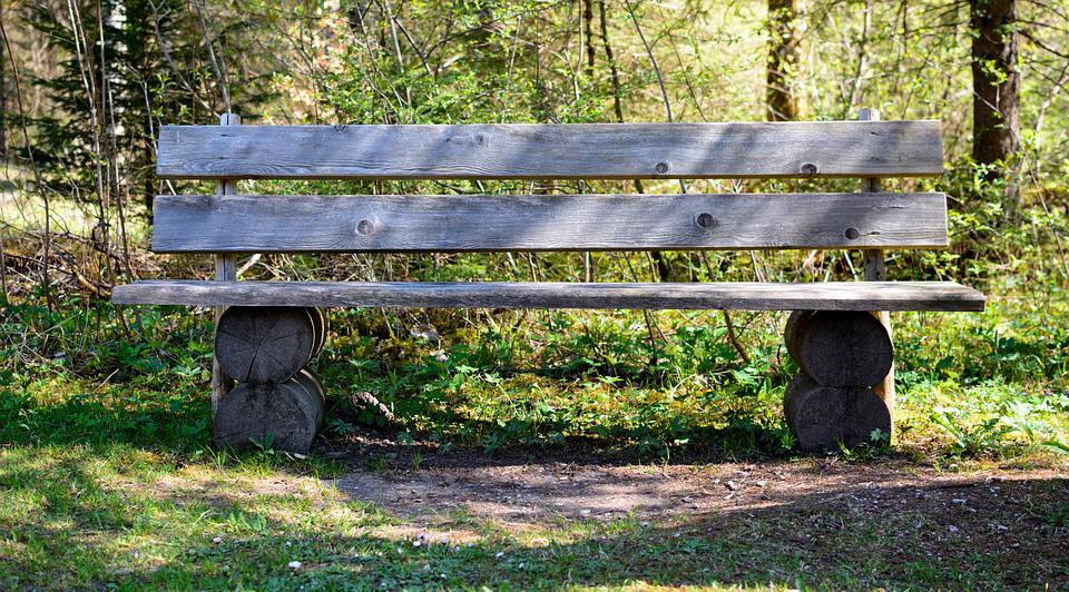 Bench, Wood, Nature, Bank, Rest, Out, Click, Seat