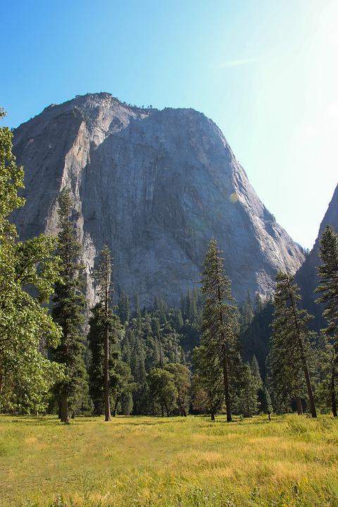 Yosemite, California, Usa, Landscape, Nature, Sky