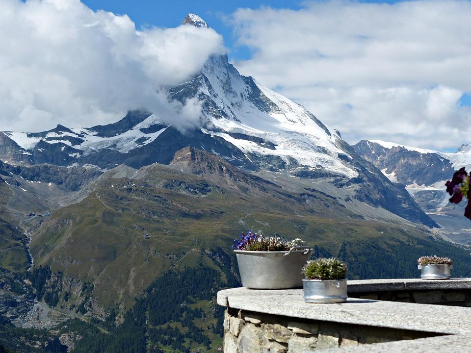 Switzerland, Zermatt, Nature, Mountains