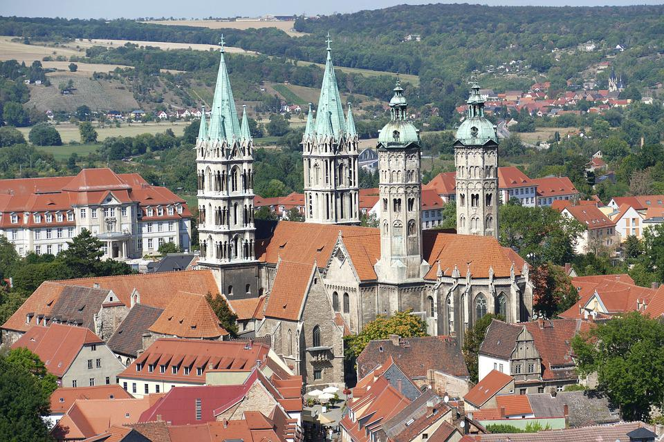 Naumburg, Dom, Saxony-anhalt, Outlook, View, Church