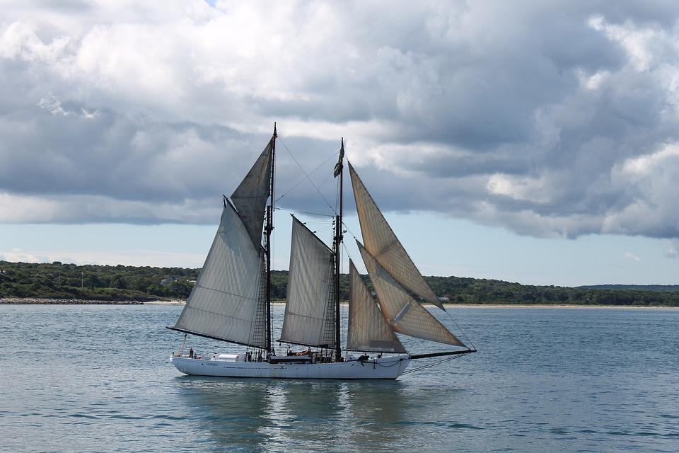 Sailboat, Ship, Nautical, Sailing, Boat