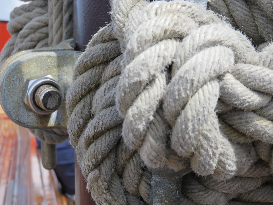 Rope, Knot, Ship, Boat, Nautical, Marine, Sea