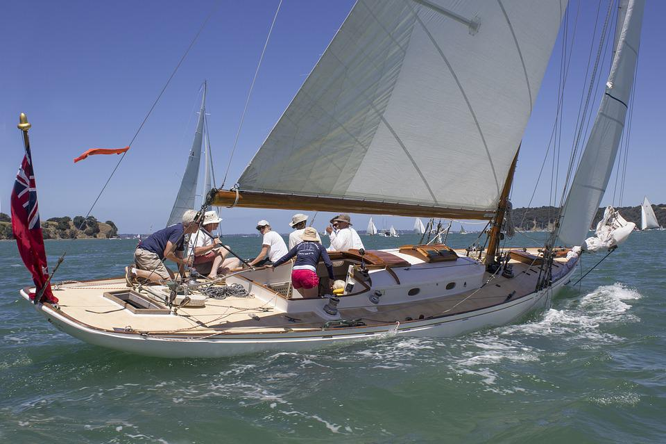 Yacht, Classic Sailboat, Sail, Sea, Nautical, Ocean