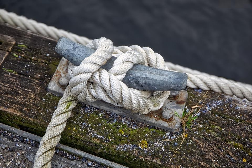 Dew, Knot, Nautical, Wood, Sea, Port, Boats