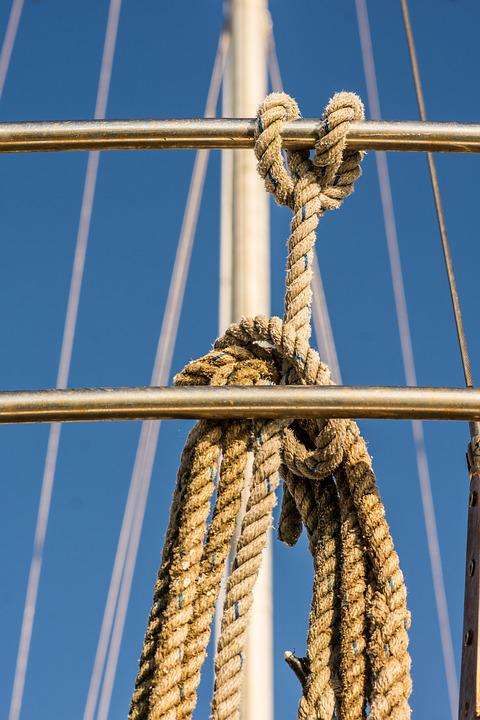 Rope, Nautical, Yacht, Sail, Sailboat, Knot, Ship, Mast