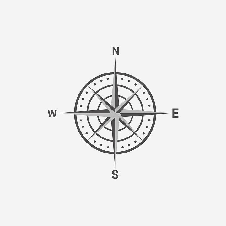 Compass, Map, Instructions, Navigation, History, Travel