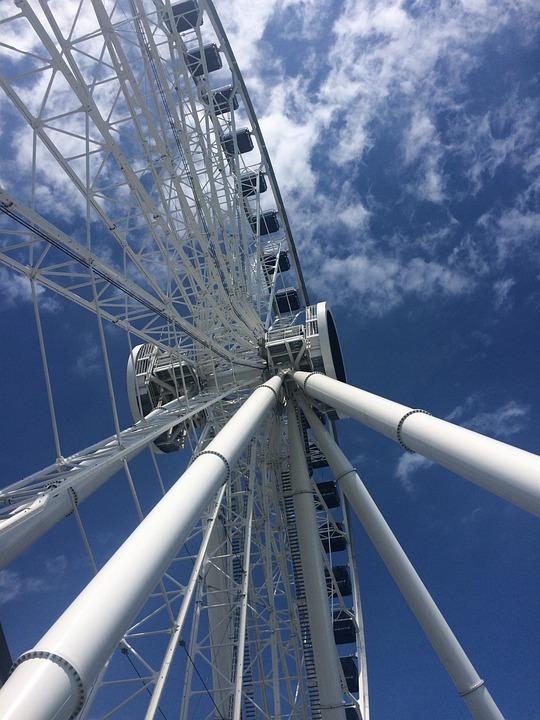 Navy Pier, Ferris Wheel, Chicago, Attraction, Navy