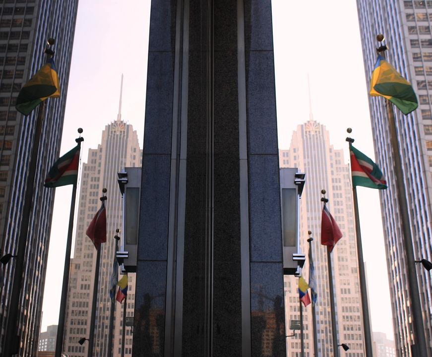 Nbc Tower, Chicago, Skyline, Chicago Skyline, Tower
