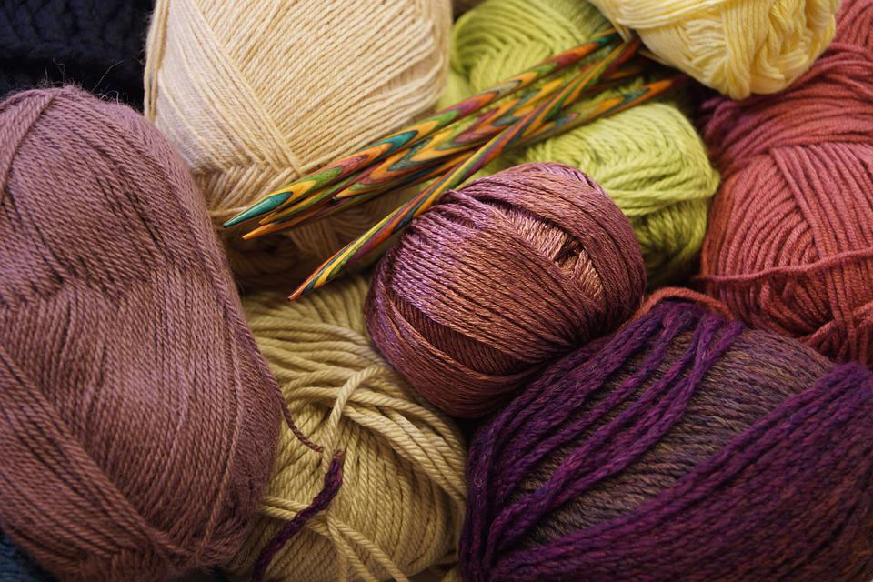 Wool, Knitting Needles, Needle Play, Hobby, Hand Labor