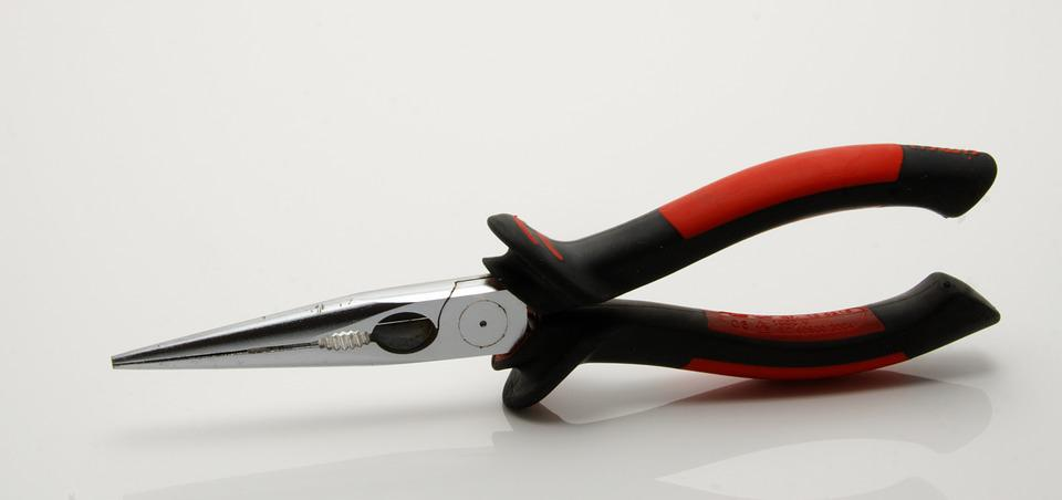 Pliers, Tool, Needle-nose Pliers, Metal, Craft
