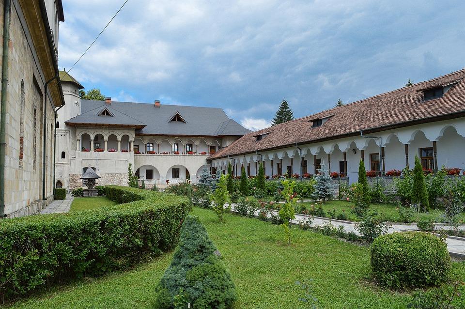 Monastery, Negru Voda, Campulung, Romania, Inside