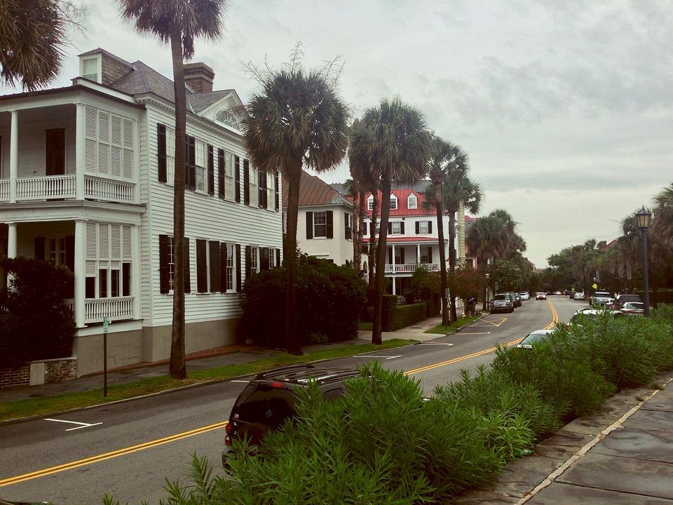 Neighborhood, Houses, Row House, Street, Home, Estate
