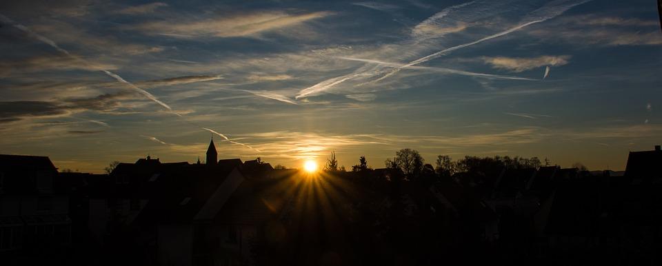 Sunrise, Ostfildern, Nellingen, Baden Württemberg