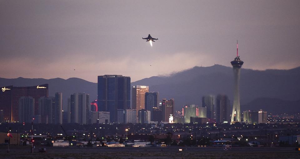 F-16, Fighting Falcon, Nellis Air Force Base, Las Vegas