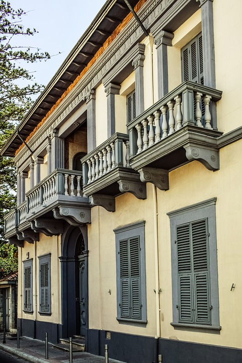 Cyprus, Limassol, Building, Neoclassic, Architecture