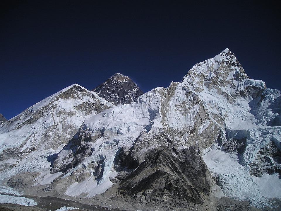 Nepal, Himalayas, Mountain, Everest, Mountains, Nuptse